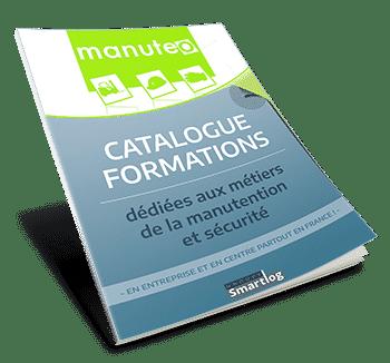 Catalogue de formations : métiers manutention et sécurité.