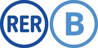 Logo RER B